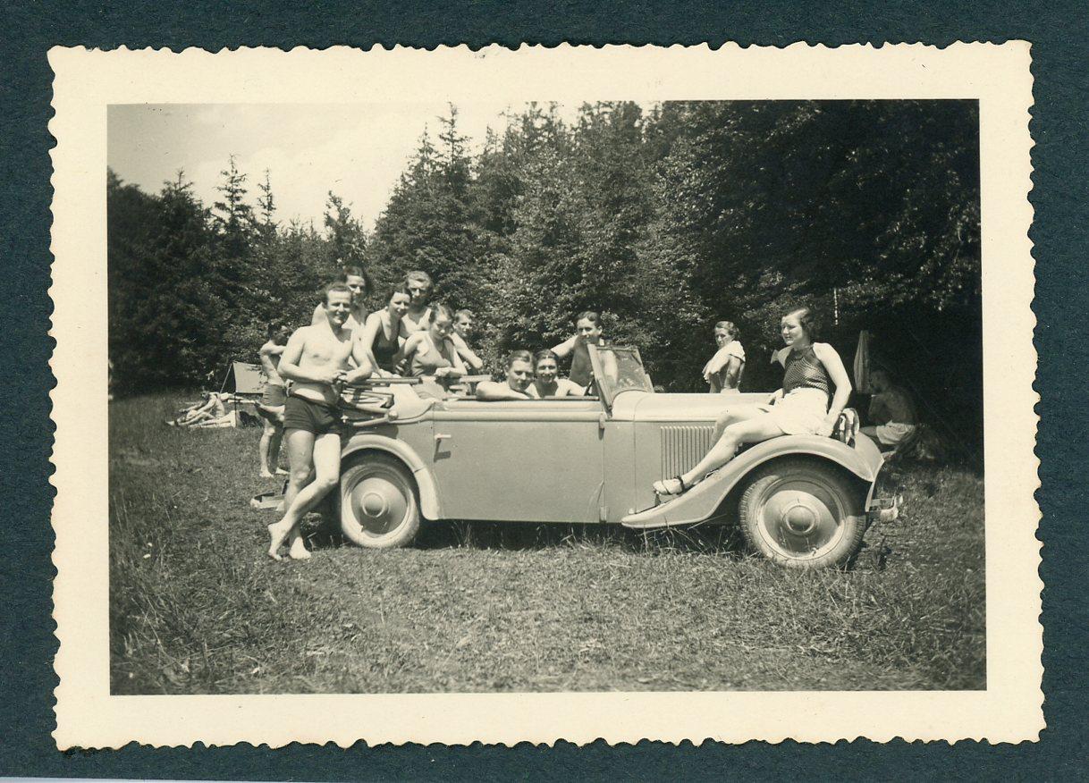 allemagne 1936 vintage silver print germany vintage car voiture d 39 po ebay. Black Bedroom Furniture Sets. Home Design Ideas