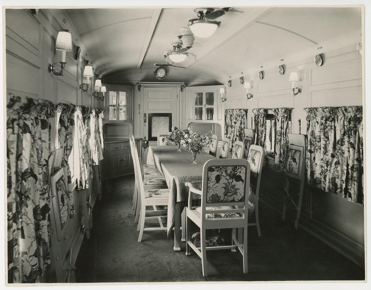 1960 wagon salle manger vintage silver print tirage for Salle a manger annee 1960