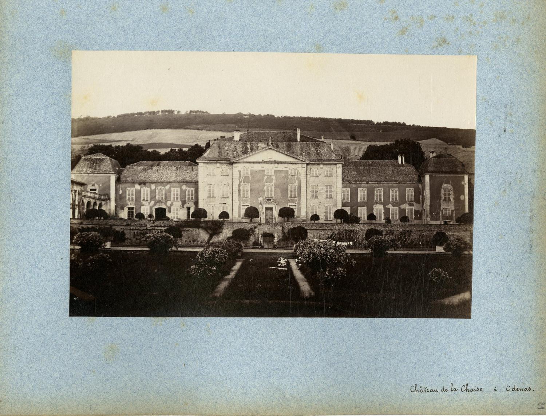 France ch teau de la chaise odenas vintage albumen for Chateau de la chaise