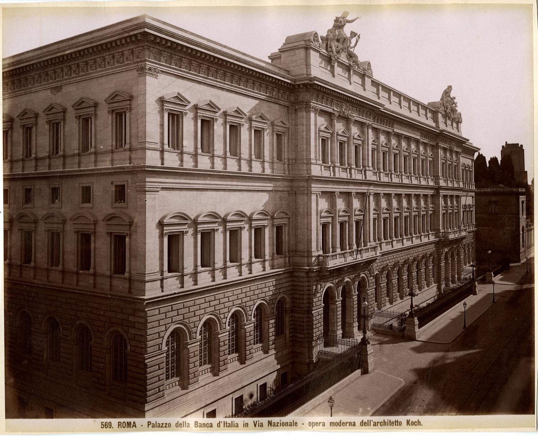 Italie roma palazzo della banca d 39 italia in via for Palazzo delle esposizioni via nazionale roma