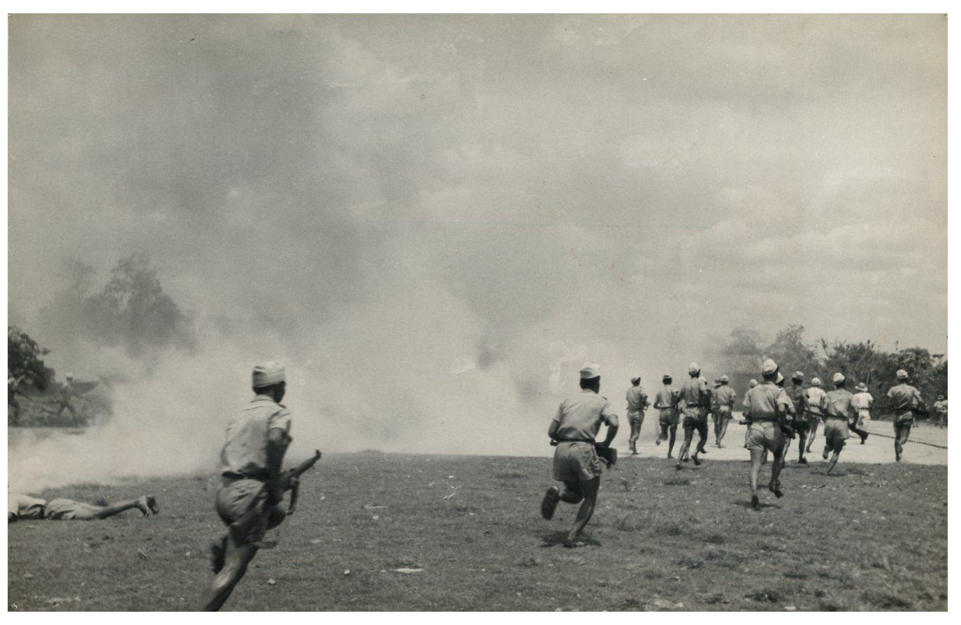 Indochine, Guerre d'Indochine 1946-1954 Vintage silver