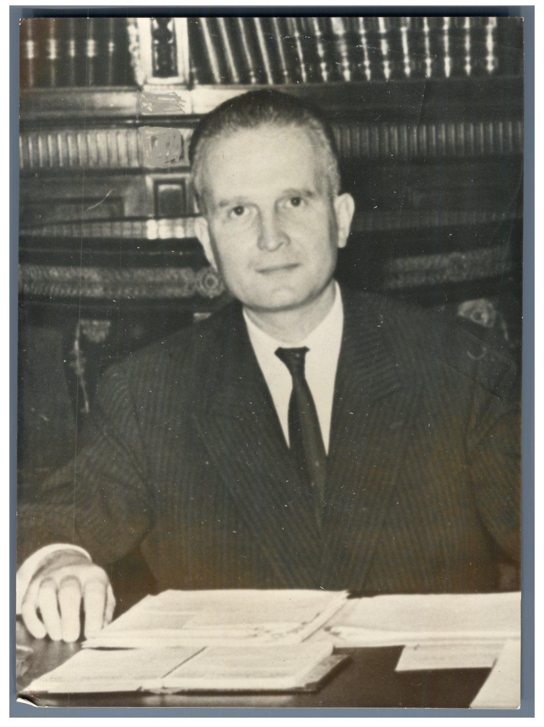 France, Bernard Tricot, homme politique Vintage Tirage argentique 13x18 |  eBay