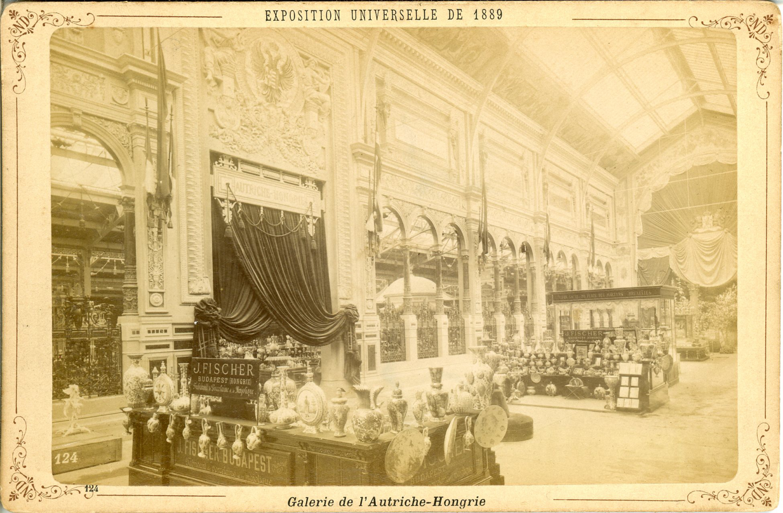 Nd paris exposition universelle de 1889 galerie de l 39 autriche hongrie v ebay - Maison de la hongrie paris ...
